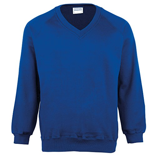 MAKZ - Sweat-Shirt - Manches Longues - Homme - Bleu - Small