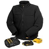 DEWALT DCHJ060C1-S 20V/12V MAX Black Heated Jacket Kit, Small