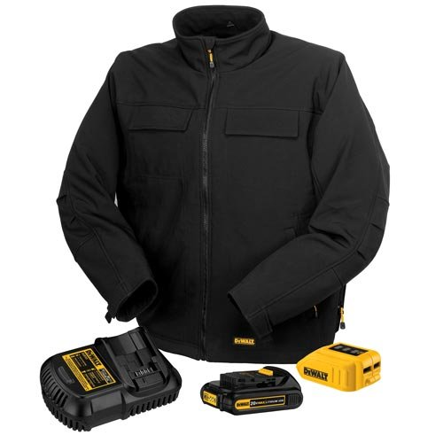 DEWALT DCHJ060C1-3XL 20V/12V MAX Black Heated Jacket Kit,...