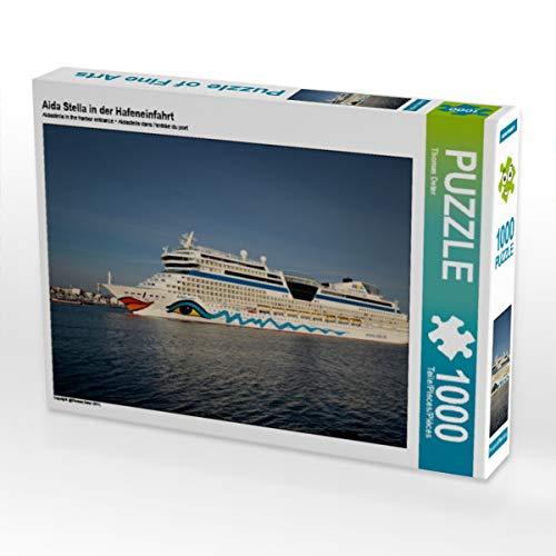 CALVENDO Puzzle Aida Stella in der Hafeneinfahrt 1000 Teile Lege-Größe 64 x 48 cm Foto-Puzzle Bild von FotoDeHRO
