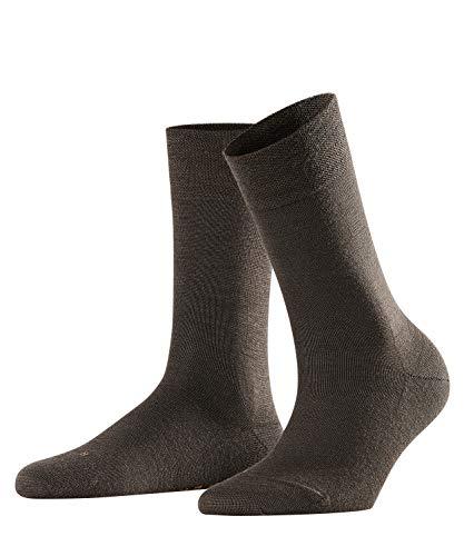 FALKE Damen Socken Berlin Sensitive 3er Pack, Größe:39-42;Farbe:Dark Brown (5239)