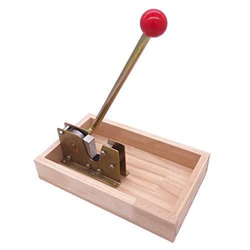 Ganquer Nussknacker Walnuss Werkzeug Macadamia Öffner Küche Mutter Knallbonbon mit Griff Abziehbare Maschine Praktischer Mutter Zange