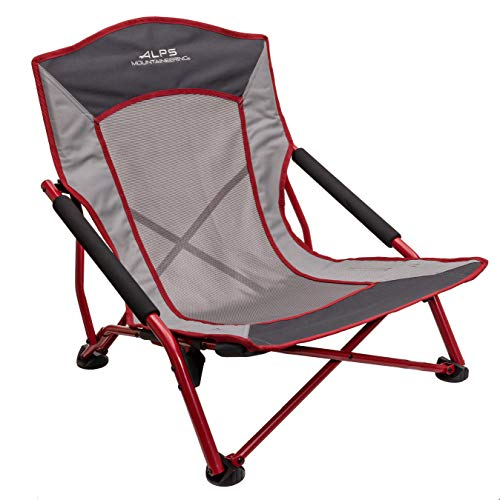 ALPS Mountaineering Rendezvous Chair, Salsa/Charcoal, One Size
