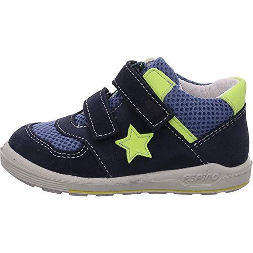 RICOSTA Kinder Boots NURI von Pepino, Weite: Mittel (WMS),lose Einlage,Halbschuhe,mit,flexibel,leicht,Nautic/Jeans (173),21 EU / 4.5 Child UK