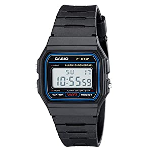 Casio watches CASIO F91W-1 Casual Sport Watch