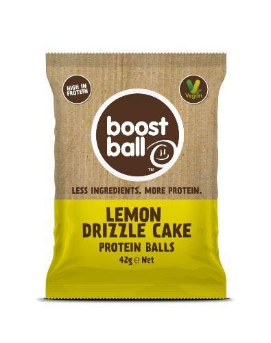 Boostball | Lemon Drizzle Cake Protein Ball | 4 x 42g