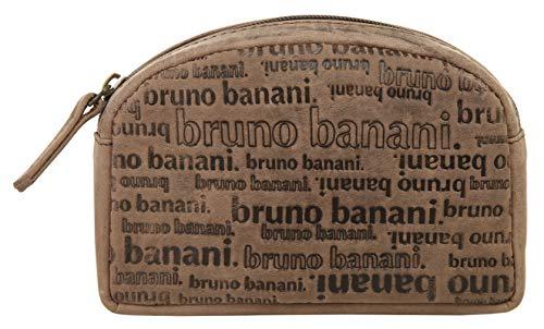Bruno Banani Trousse pour cosmétiques. All Over Homme, Femme Cuir véritable