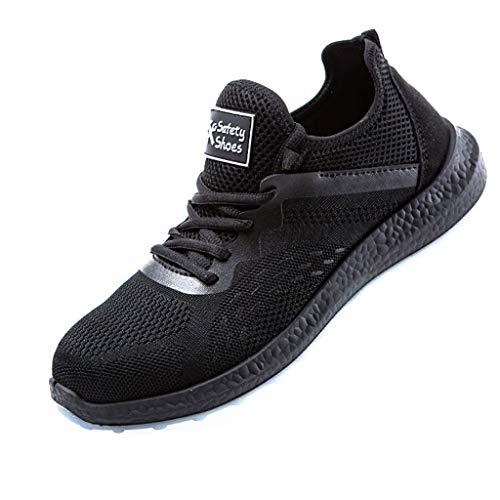 Zapatos de seguridad Zapatos de seguridad ligera hombres y mujeres al aire libre zapatos casuales de la moda de Montañismo desodorante transpirable anti-sensacional Anti-Piercing botas de trabajo