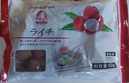 冷凍 ライチ 1kg (500g×2P) 中国産