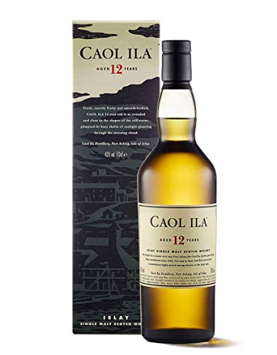 Caol Ila Islay Malt 12 yo Single Malt Scotch Whisky - 700 ml