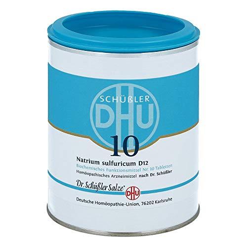 DHU Schüßler-Salz Nr. 10 Natrium sulfuricum D12 Tabletten, 1000 St. Tabletten