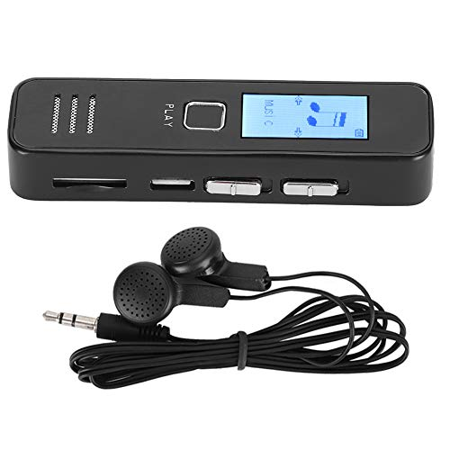 Grabadora de Voz USB, Reproductor de Audio MP3 de 1,2 Pulgadas,...