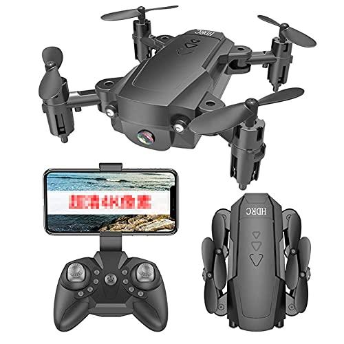 J-Clock HD Drone Mini para niños Regalos Drone, 360 Grados; Control Remoto Plegable Altura Fija rotación para niños Principiantes Juguetes para niños