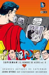 Grandes Autores de Superman: John Byrne - Superman: El hombre de acero vol. 8 (Grandes autores Superman: Byrne)