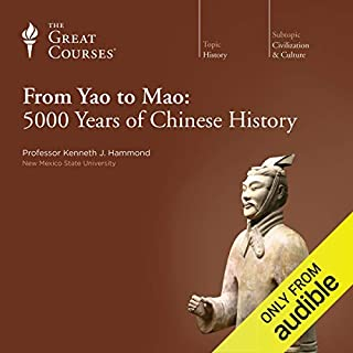 From Yao to Mao: 5000 Years of Chinese History cover art