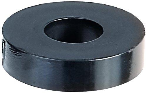 GAH-Alberts 338664 Distanzhülse, Kunststoff, schwarz, 20 x 5 mm / 20 Stück