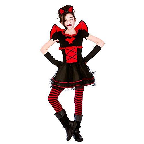 Little Vamparina Childs Halloween / Carnaval Costume de fantaisie (11-13 ans) 146-158cm