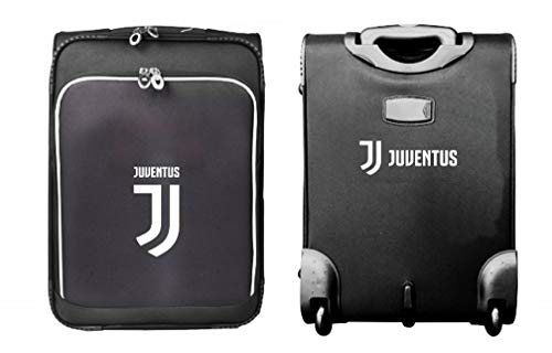 Juventus Trolley Juve Originale Ufficiale Enzo Castellano Bagaglio A Mano TRJU1641