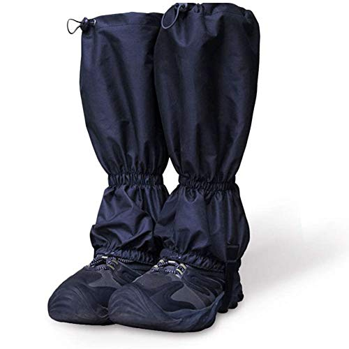 Massage-AED Leg Gaiters Waterproof Outdoor Waterproof Windproof Breathable Leggings Cover for Hiking, Walking, Climbing, Hunting, Mountaineering, Men and Women