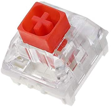 Kailh Box Switches for Mechanical Gaming Keyboards (65 Pcs, Box Red)