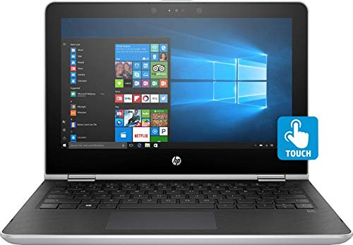 HP Pavilion X360 2-in-1 11.6'' HD IPS WLED-Backlit Touchscreen Laptop | Intel Pentium Silver N5000 Quad-Core | Intel UHD Graphics 605 | 8GB DDR4 | 1TB HDD | Wi-Fi | Bluetooth | Webcam | Windows 10