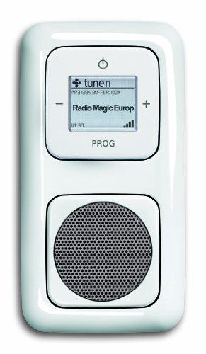 Komplett-Set BUSCH-JAEGER, iNet Radio, Lautsprecher -weiß- -Reflex SI-