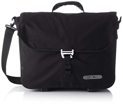 Ortlieb Downtown 2 Bicycle Briefcase/Business Bag, Unisex, Downtown 2, Mat Black, 31 x 40 x 14 cm, 20 Liter