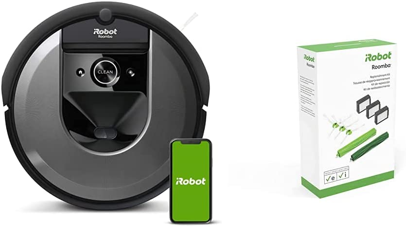 iRobot Roomba i7 7150 Robot Vacuum 特別セール品 e レビューを書けば送料当店負担 Series i with and