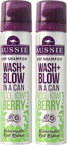 Aussie Miracle Dry - Champú instantáneo en seco (2 unidades de 65 ml, tamaño de viaje)