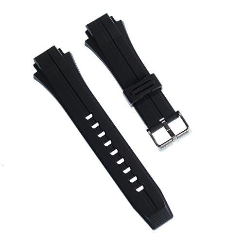 Calypso Reloj de Pulsera Brazalete Deportivo de Material Caucho Negro para Calypso k5606Relojes
