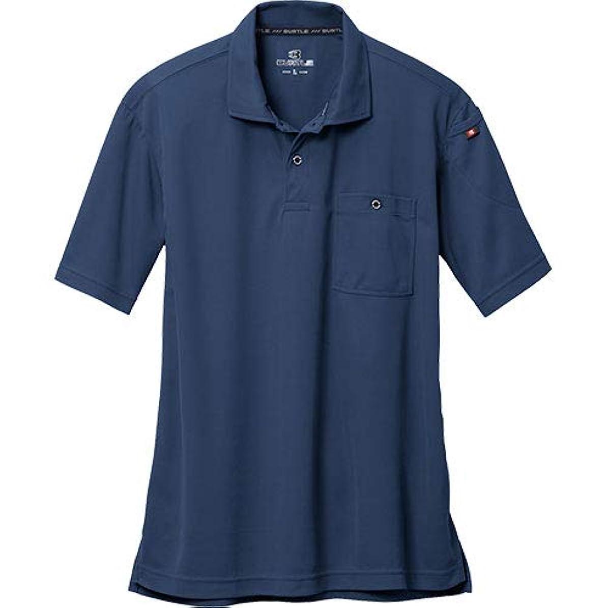 [バートル] 半袖ポロシャツ 3/ネイビー 667 3Lサイズ