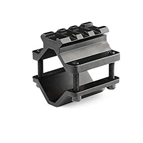 360 Tactical Single Rail Three Slot Barrel Mount Weave Picatinny Weaver Barrel Mount 3 Slot