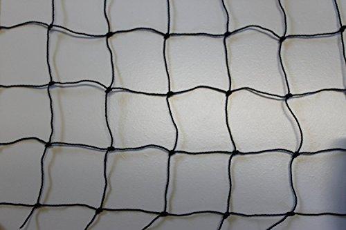 Geflügelnetz Vogelnetz Voliere Höhe: 3,00 m Meterware schwarz Masche 5 cm