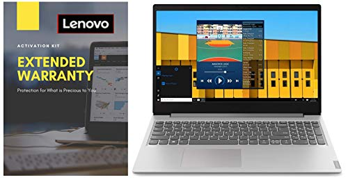 "Lenovo Ideapad S145 AMD A6-9225 15.6"" HD Thin and Light Laptop (4GB/1TB/Windows 10/Grey/1.85Kg) 81N30063IN + Lenovo 2 Year Extended Warranty with Onsite Service"