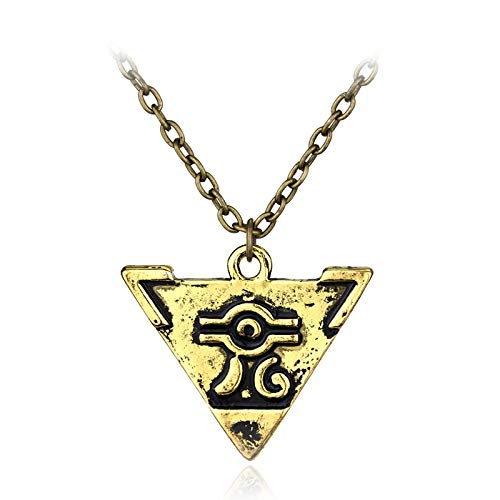 MINTUAN Zarte Collier Halsketten Spiel Anime Yugioh Millenium Duell Monster Anhänger ägyptischen 3D Yu-Gi-Oh Kette Halskette Spiel Schmuck