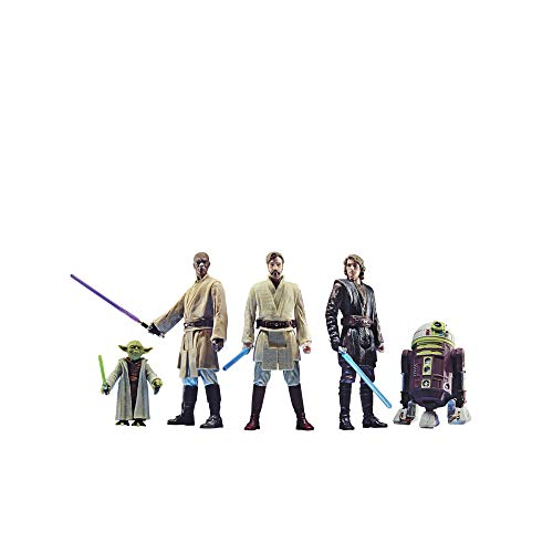 Star Wars Celebrate The Saga Toys Jedi Order Action Figure Set, 3.75-Inch-Scale Collectible Figures 5-Pack, Toys for Kids Ages 4 and Up