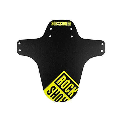 Rockshox nero, ROCK SHOX parafango fender mtb anteriore giallo fluo Unisex adulto, taglia unica