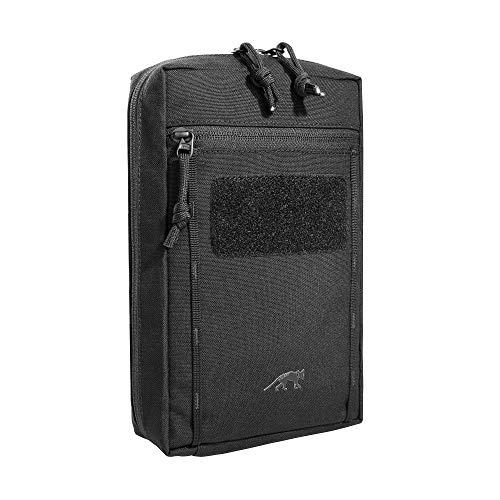 Tasmanian Tiger TT Tac Pouch 7.1 Rucksack Zusatz-Tasche mit Patch Klett-Fläche Molle-System kompatibel, Zubehör-Tasche für EDC, Werkzeug oder kleine Erste Hilfe Sets, 24 x 15 x 6 cm, Schwarz