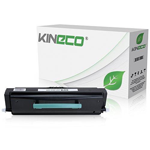Toner X340 kompatibel zu Lexmark X342N - X340H21G - Schwarz 6.000 Seiten
