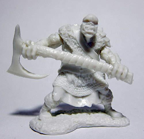 Pechetruite 1 x ORC Chopper 2H Axe - Reaper Bones Miniature zum Rollenspiel Kriegsspiel - 77431