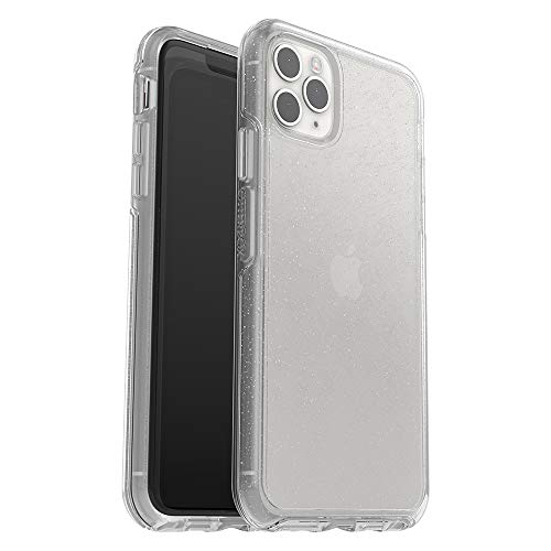 OtterBox Symmetry Series Clear - Back cover for cell phone - polycarbonate, synthetic rubber - stardust (glitter) - for Apple iPhone 11 Pro Max