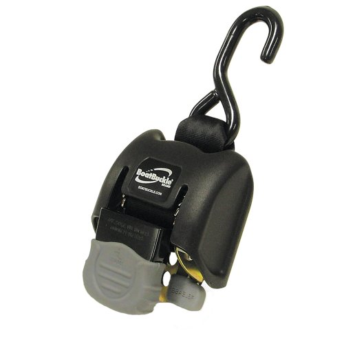 """BoatBuckle G2 Retractable Transom Tie-Down - 14-43"""" - Pair"""