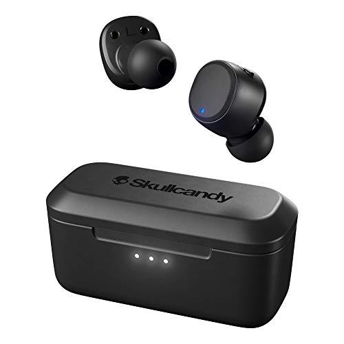 Skullcandy Spoke Truly Wireless Bluetooth in Ear Earbuds with Mic (Black)