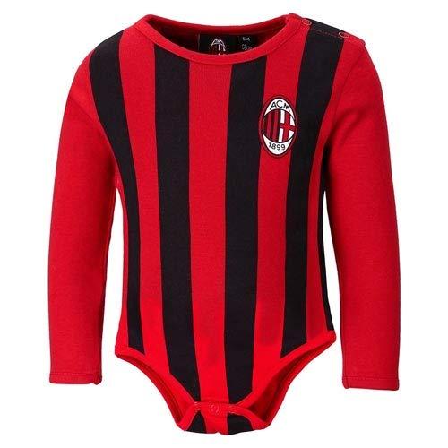 Body AC Milan mouwen 12 18 24 maanden officieel