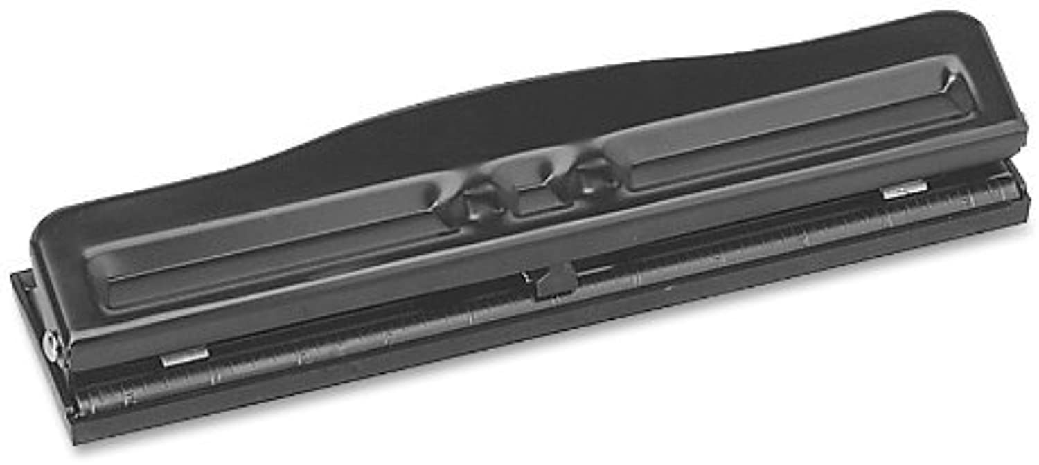 Sparco S.P. Richards Company Adjustable 3 Hole Punch, Adjustable, Adjustable, Adjustable, 1 4-Inch, Größe, 8-10 Sheet Capacity, schwarz (SPR00786) by Sparco B0141O0IQQ | Charmantes Design