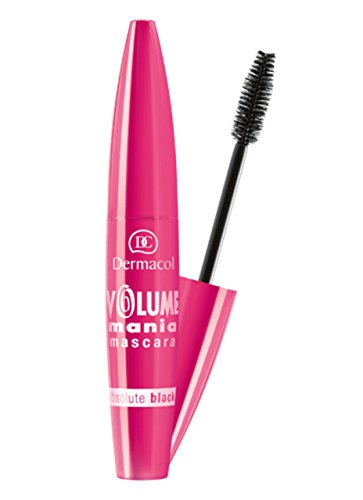 Dermacol - Mascara for spectacular volume lashes Volume Mascara Mania 10 ml odstín Black -