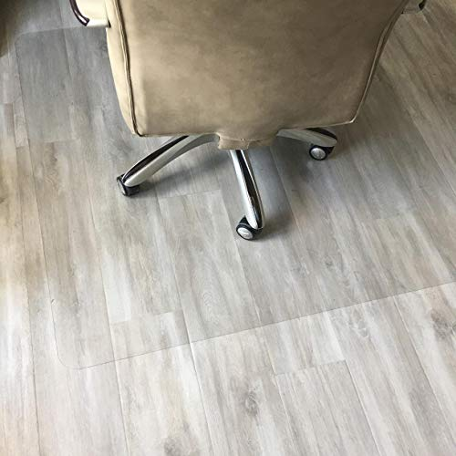 """Polycarbonate Office Chair Mat for Hardwood Floor, Floor Mat for Office Chair (Rolling Chairs), Desk Mat & Office Mat for Hardwood Floor, Immediately Flat, Only for Hardwood Floor, 36""""x48"""""""