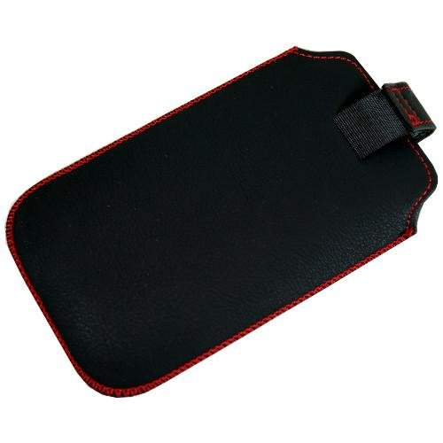 Tasche für Handy Smartphone Allview P5 Energy, Etui Hülle Slim Case Cover mit Auszugband