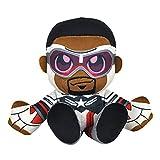 Bleacher Creatures Marvel Captain America (Falcon Cap) 8' Kuricha Sitting Plush - Soft Chibi Inspired Toy