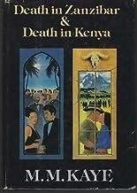 Death in Zanzibar and Death in Kenya by M. M. Kaye 1983 Mysteries Dust Jacket